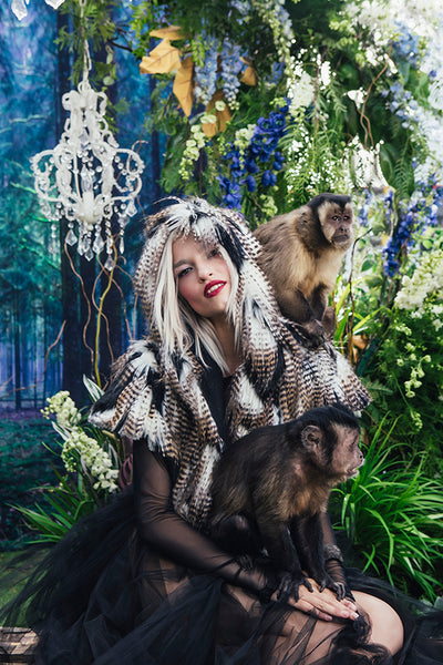 Animal Tracks x SpiritHoods: Special Photoshoot Championing Animals Rescued From Black Market Pet Trade