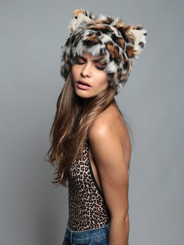 Mother Clouded Leopard SpiritHood