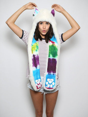 Arctic Wolf Color Blast Limited Edition SpiritHood