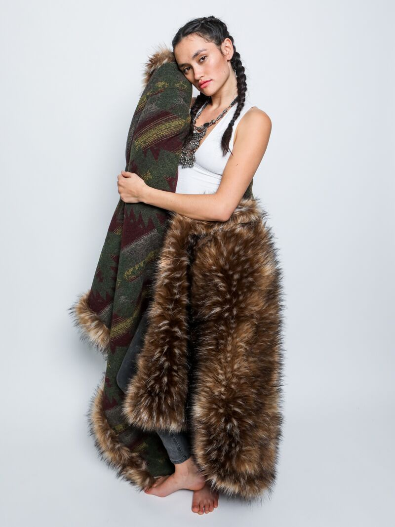 8dfdfbe99 SpiritHoods® | Grizzly Faux Fur Throw