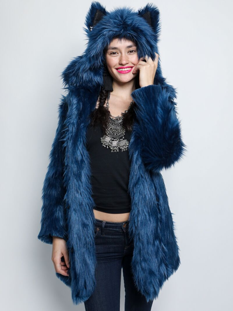 c8aa877556a Water Wolf Faux Fur SpiritHoods Coat - SpiritHoods