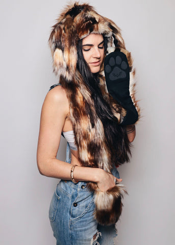 Limited Edition Brown Rabbit SpiritHood