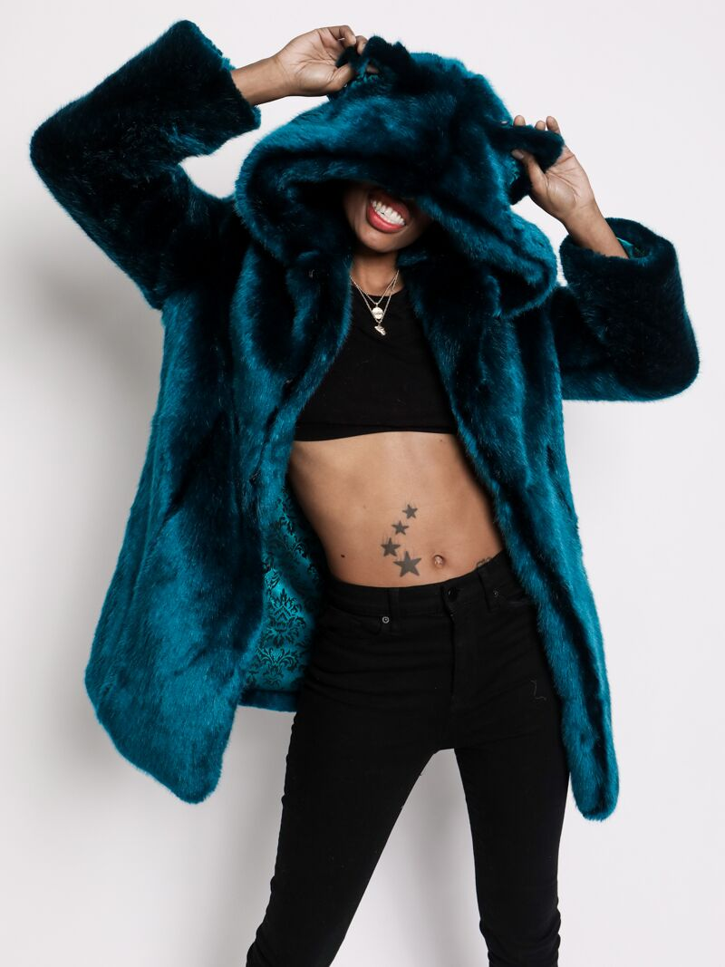 Royal Wolf Luxe Faux Fur Coat