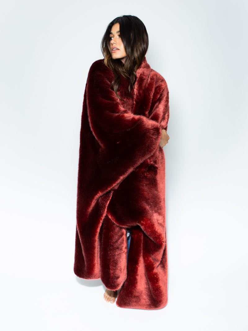 Collector Edition Garnet Galaxy Throw - SpiritHoods