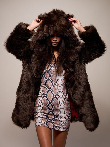 Limited Edition Brown Bear Faux Fur Coat