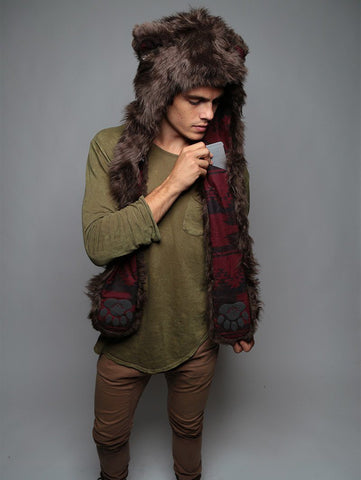 Brown Bear SpiritHood