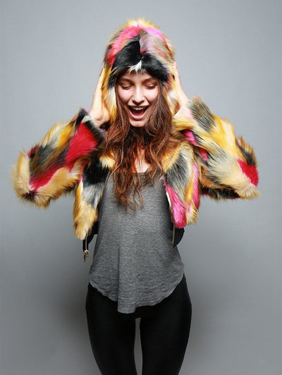 Monarch Butterfly Crop Jacket - SpiritHoods