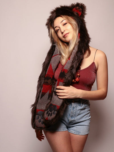 Limited Edition Brown Bear Italy SpiritHood - SpiritHoods