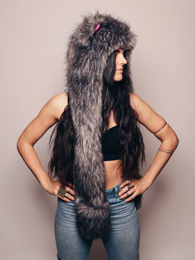 Limited Edition Charcoal Fox SpiritHood - SpiritHoods