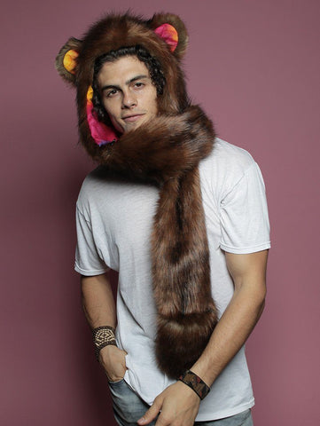 Golden Rainbow Bear CE SpiritHood