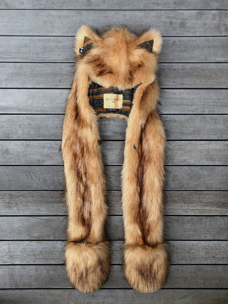 Limited Edition Mountain Lion SpiritHood - SpiritHoods