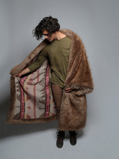 Limited Edition Coyote Throw - SpiritHoods