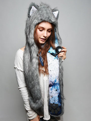 Frosted Inverse Galaxy Fox Collector SpiritHood