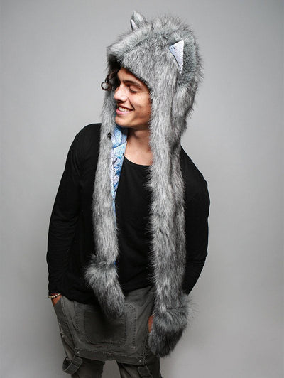 Frosted Inverse Galaxy Fox Collector SpiritHood - SpiritHoods