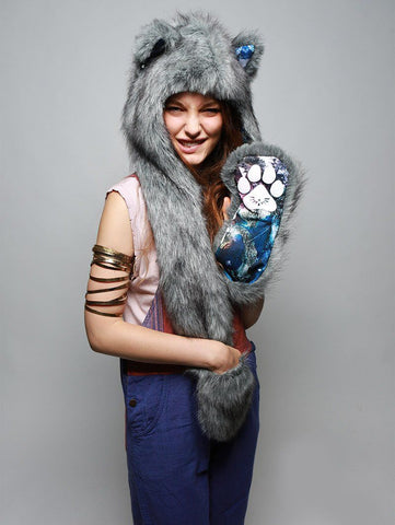 Frosted Wolf Collector SpiritHood
