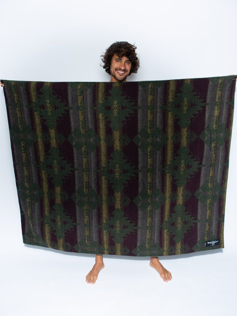 Forest Adventure Fabric Throw - SpiritHoods
