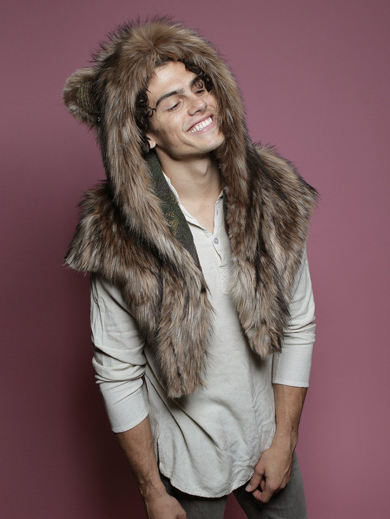 Limited Edition Grizzly Italy Shawl SpiritHood
