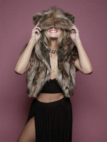LE Grizzly Italy Shawl SpiritHood