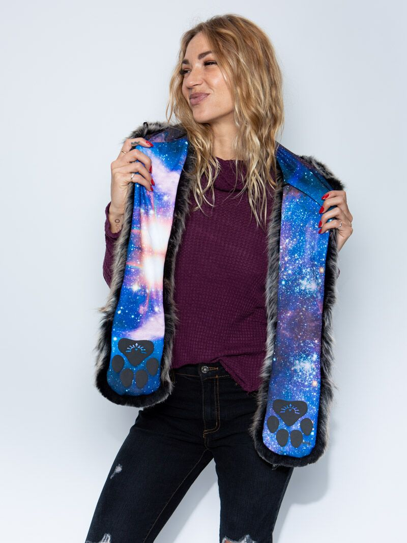 Grey Wolf Galaxy Collector Edition SpiritHood