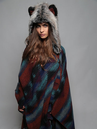 Moon Cape + Grey Wolf 1/2 Hood Bundle! - SpiritHoods
