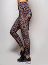 Purple Cheetah Velvet Leggings - SpiritHoods