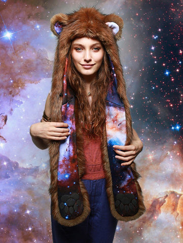 Golden Galaxy Bear Collector SpiritHood