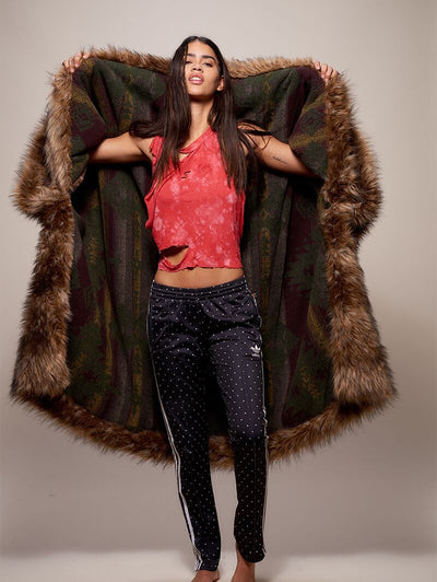 Grizzly Faux Fur Throw - SpiritHoods