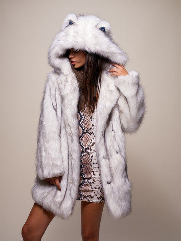 Limited Edition Husky Faux Fur Coat