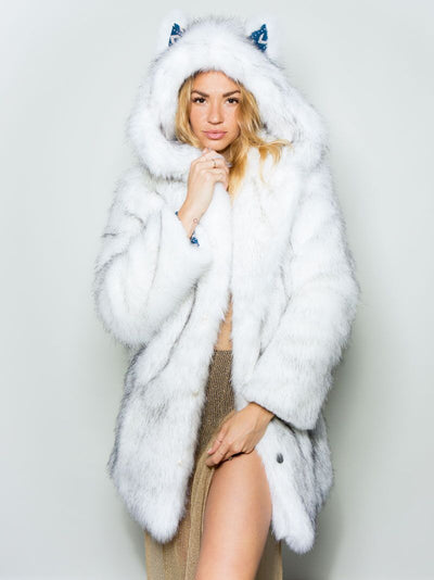 Limited Edition Husky Faux Fur Coat - SpiritHoods