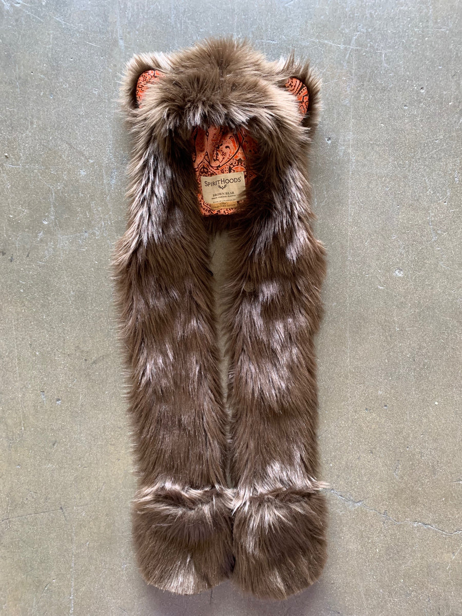 Unisex Brown Bear Collector Edition SpiritHood