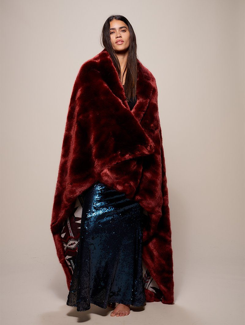 Luxury Garnet Throw - SpiritHoods