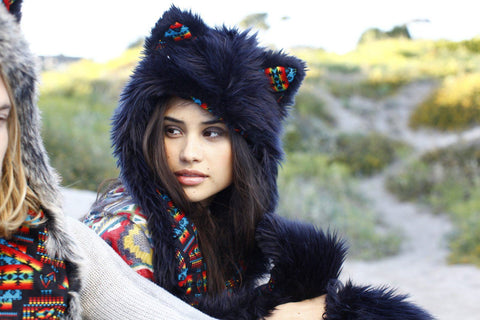 Black Wolf Warrior Collectors Edition SpiritHood
