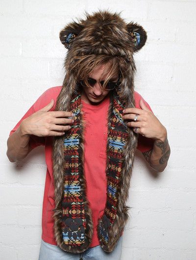 Grizzly Bear Collectors Edition SpiritHood - SpiritHoods