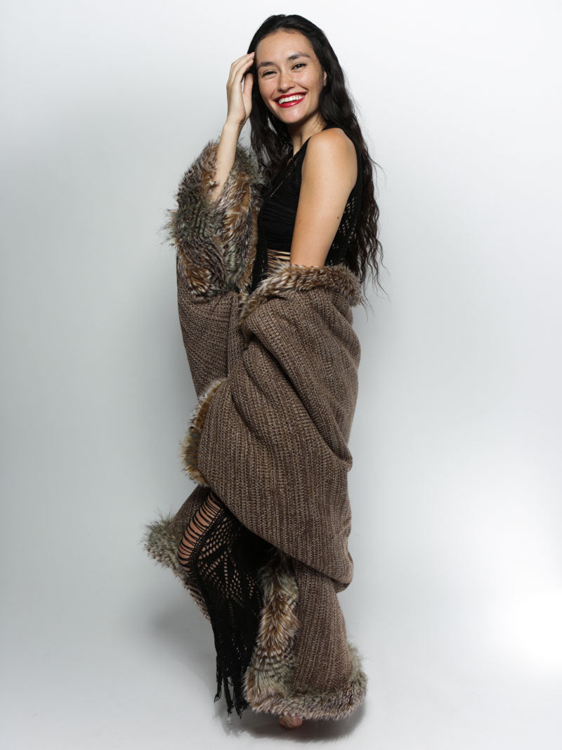 NightHawk Limited Edition Faux Fur Throw
