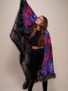 Limited Edition Night Fox Galaxy Faux Fur Throw - SpiritHoods