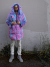 Cotton Candy Bear Faux Fur Coat - SpiritHoods