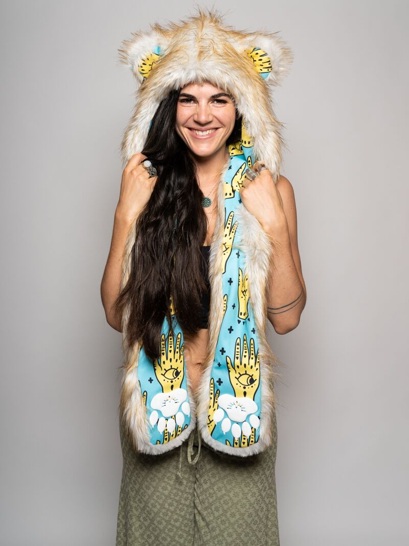 Golden Hamsa Bear Collector Edition SpiritHood