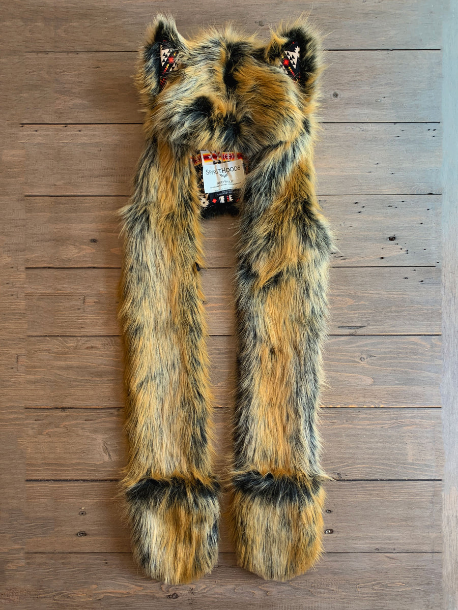 Limited Edition Red Wolf SpiritHood