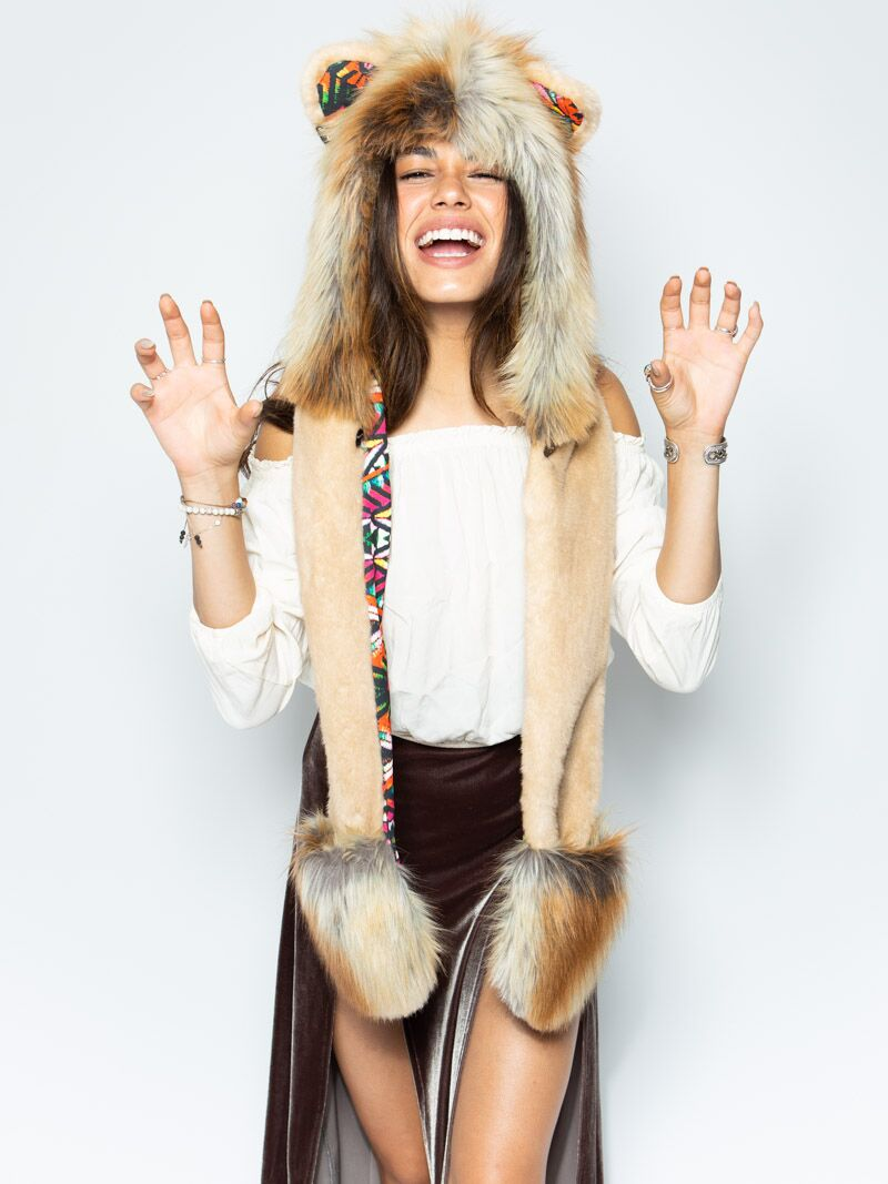Collector Edition Rangoli Lion SpiritHood - SpiritHoods
