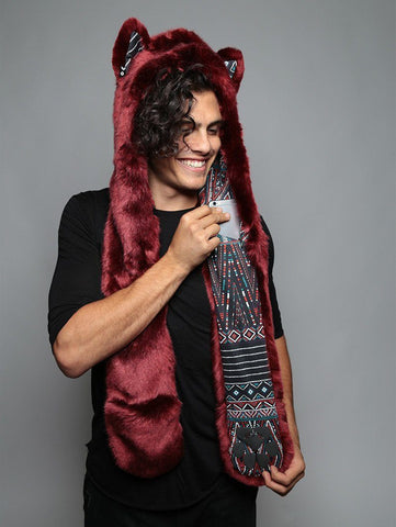 Spotted Fire Wolf Collectors Edition SpiritHood