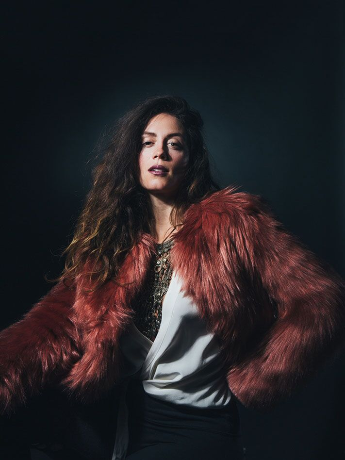 Rose Quartz Faux Fur Bomber SpiritHood