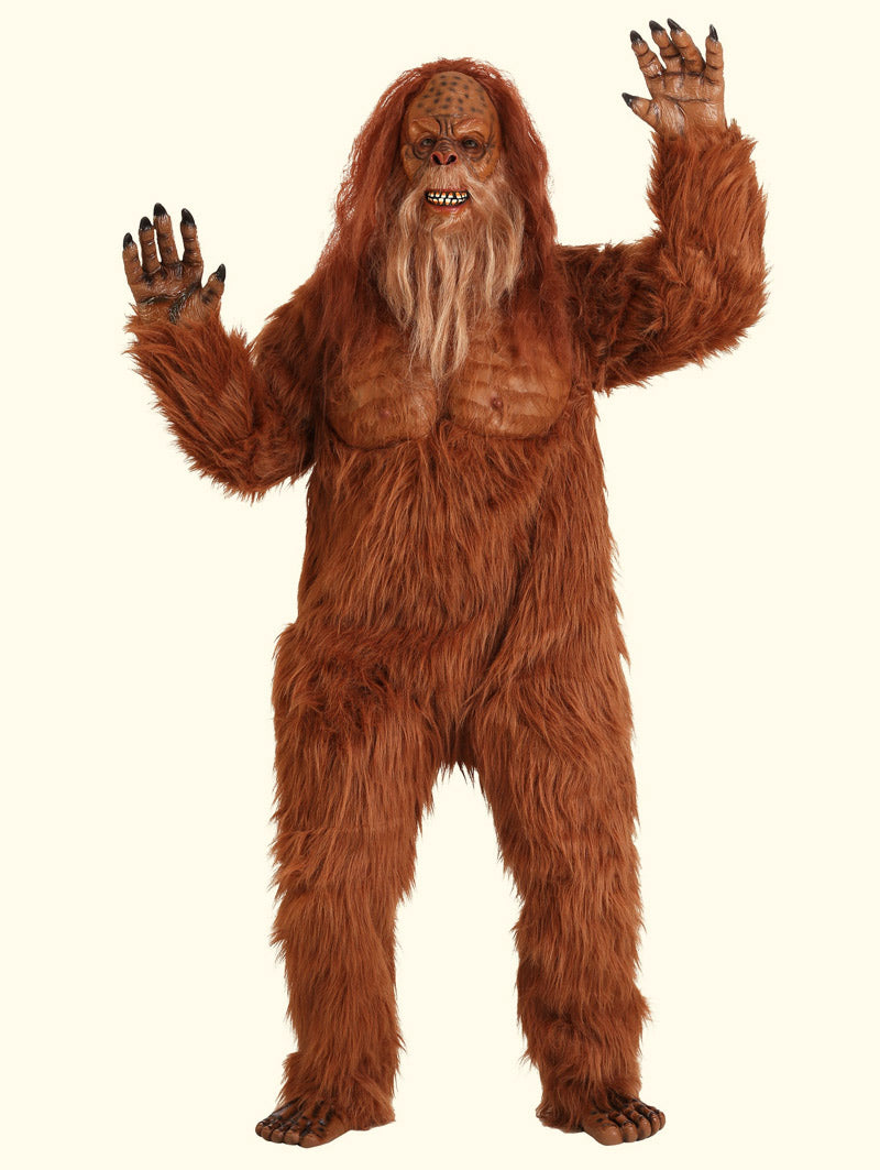 Sasquatch Full body Faux Fur Party Onesie