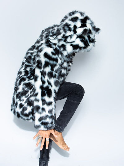Classic Spotted Leopard Faux Fur Coat - SpiritHoods