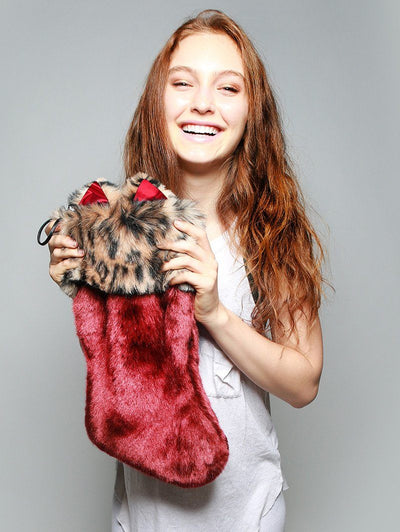Howliday Feline Spirit Stocking - SpiritHoods