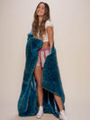 Ice Leopard Luxe Faux Fur Throw - SpiritHoods