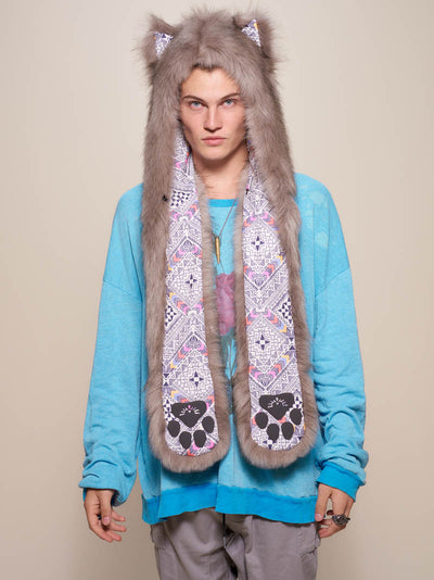 Collector Edition Northern Star Wolf Faux Fur SpiritHood - SpiritHoods