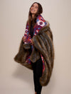 Honey Bear Collector Edition Faux Fur Throw - SpiritHoods