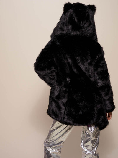Classic Black Panther Galaxy C.E. Faux Fur Coat - SpiritHoods