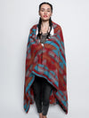 Sunset Fox Adventure Fabric Throw - SpiritHoods