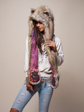 Collector Edition Arctic Wolf Galaxy SpiritHood